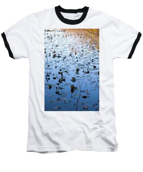 Water Lilies Autumn Song Baseball T-Shirt