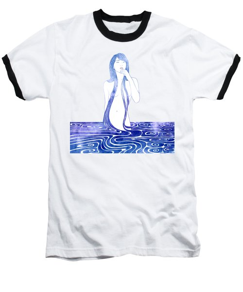 Water Nymph C Baseball T-Shirt