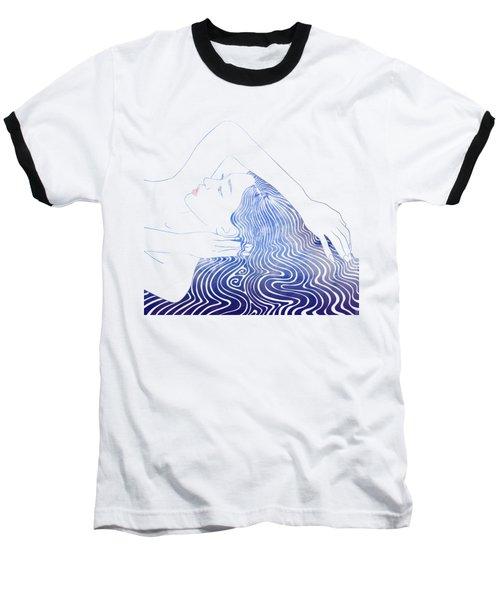 Water Nymph Lxxix Baseball T-Shirt by Stevyn Llewellyn