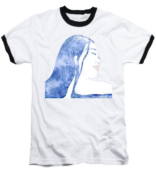 Water Nymph X Baseball T-Shirt by Stevyn Llewellyn