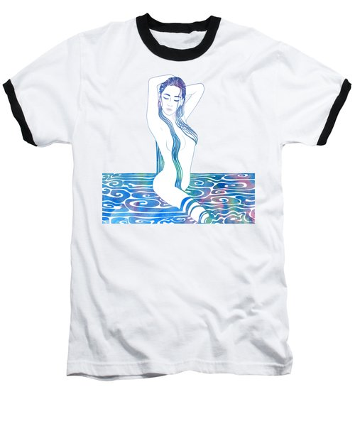 Water Nymph Xciii Baseball T-Shirt