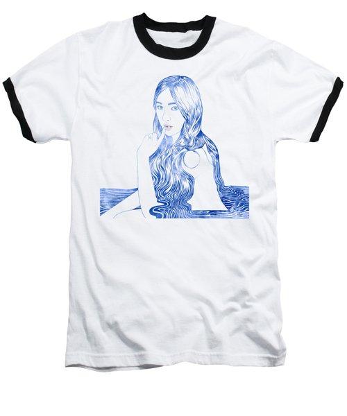 Water Nymph Xcvi Baseball T-Shirt by Stevyn Llewellyn