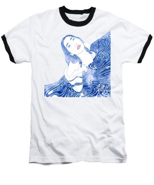 Water Nymph Xcvii Baseball T-Shirt by Stevyn Llewellyn