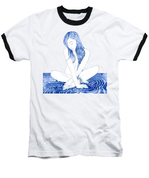 Water Nymph Xcviii Baseball T-Shirt by Stevyn Llewellyn