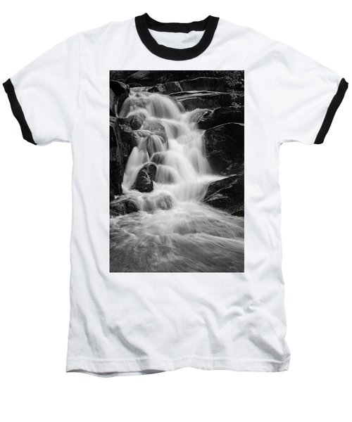 water stair close to the Heinrich Heine hiking way, Harz Baseball T-Shirt by Andreas Levi