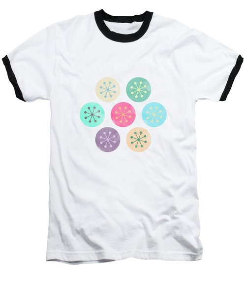Watercolor Lovely Pattern Baseball T-Shirt