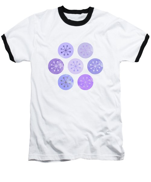 Watercolor Lovely Pattern II Baseball T-Shirt