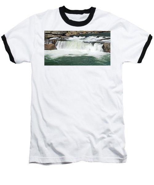 Waterfall At Ohiopyle State Park Baseball T-Shirt