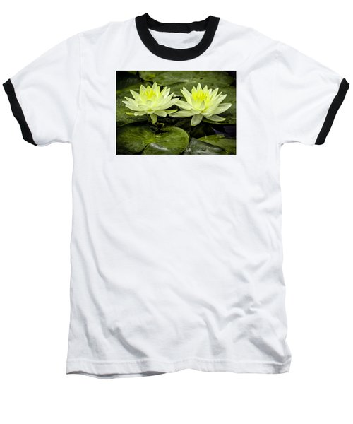Waterlily Duet Baseball T-Shirt