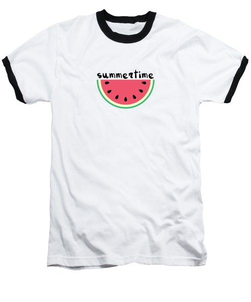 Watermelon Baseball T-Shirt