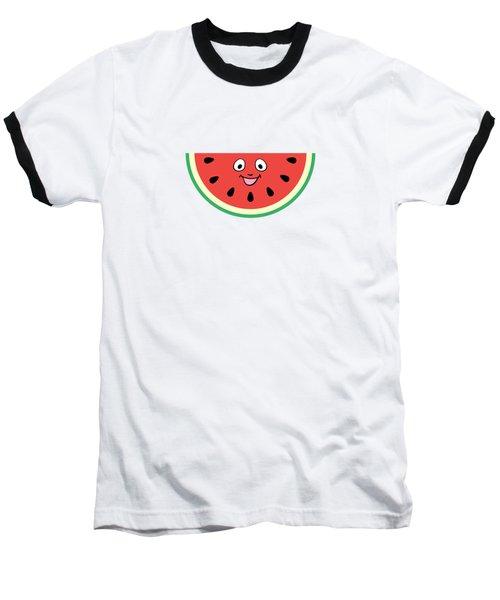 Watermelon Ornament Baseball T-Shirt