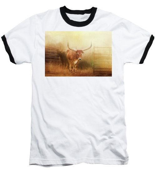Watusi In The Dust And Golden Light Baseball T-Shirt