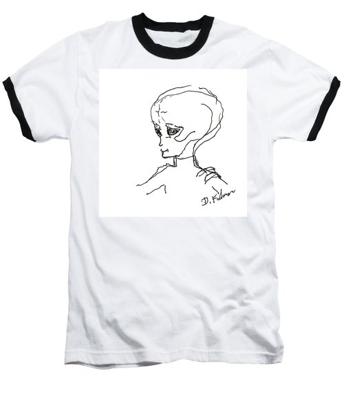 We Are Not Alone Baseball T-Shirt