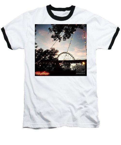 We Live In Budapest #7 Baseball T-Shirt