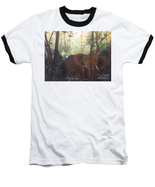 We Two Baseball T-Shirt by Trilby Cole