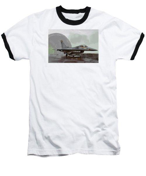 Weather Day 1274 Baseball T-Shirt by Walter Chamberlain