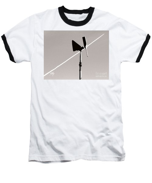 Baseball T-Shirt featuring the photograph Weather Vane by Linda Hollis