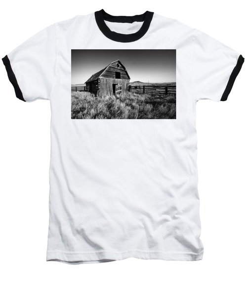 Weathered Barn Baseball T-Shirt