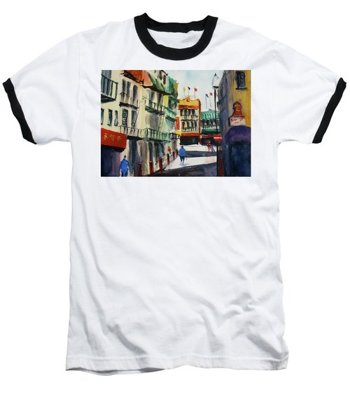 Waverly Place Baseball T-Shirt by Tom Simmons