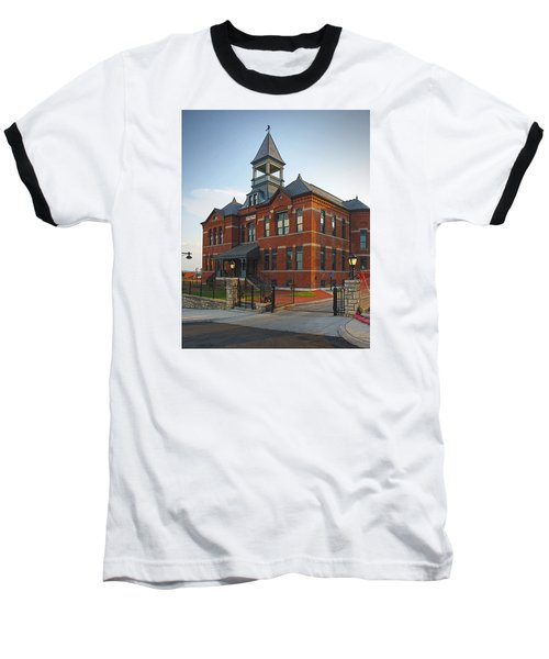 Baseball T-Shirt featuring the photograph Webster House by Jim Mathis