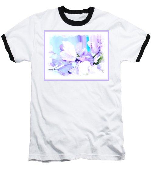 Wedding Flower Pedals Baseball T-Shirt by Marsha Heiken