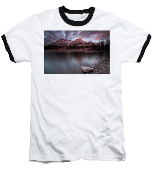 Wedge Pond Dawn Baseball T-Shirt