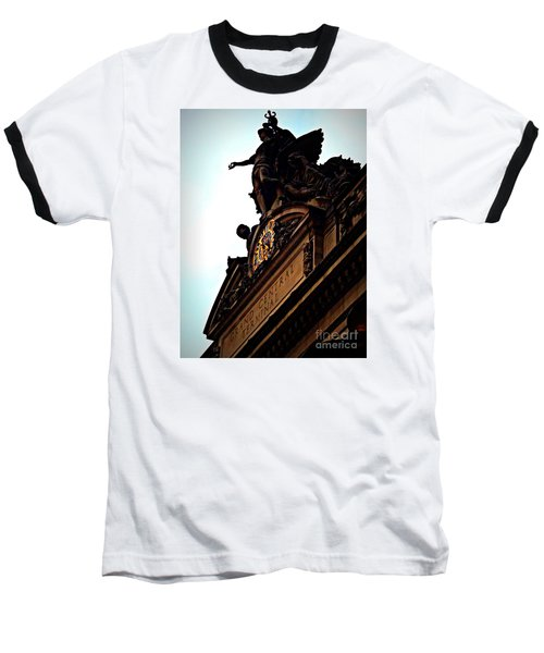 Welcome To Grand Central Baseball T-Shirt by James Aiken