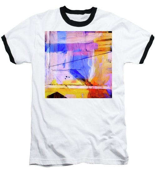 Baseball T-Shirt featuring the painting Welder by Dominic Piperata