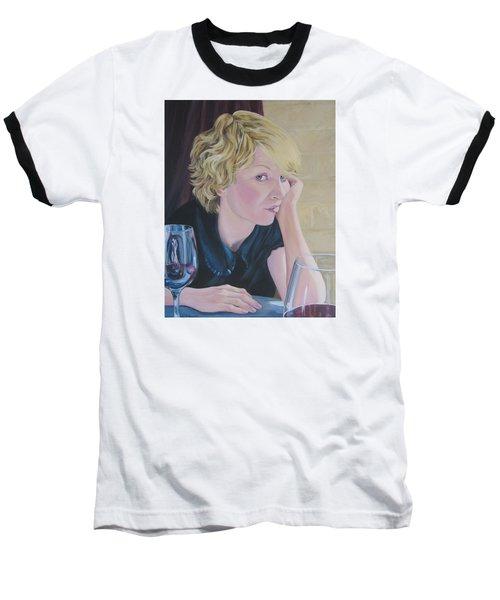 Well Baseball T-Shirt by Connie Schaertl
