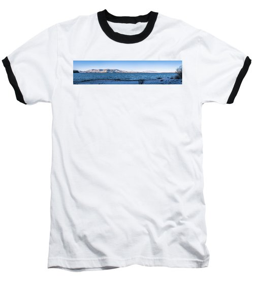 West Almanor Blue Baseball T-Shirt by Jan Davies