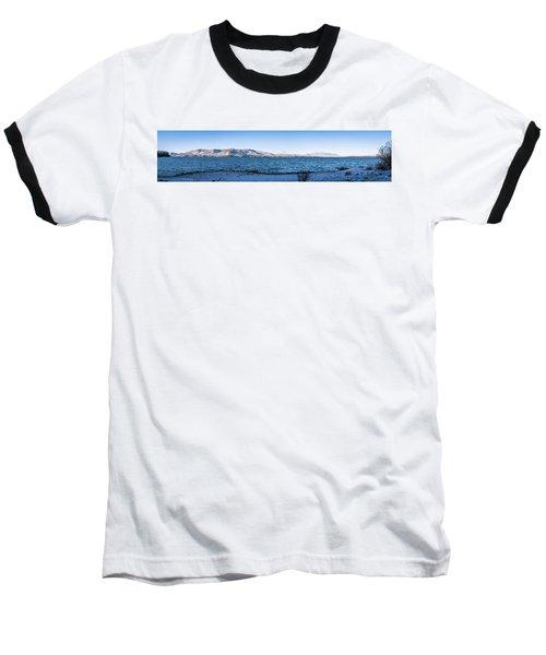 West Almanor Blue Baseball T-Shirt
