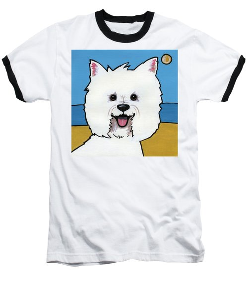 West Highland Terrier Baseball T-Shirt