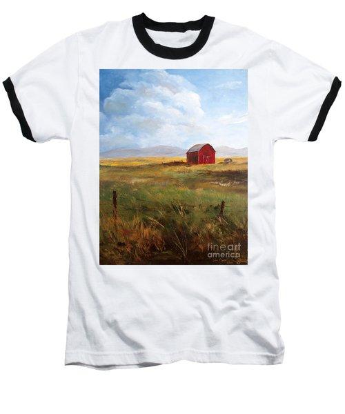 Western Barn Baseball T-Shirt