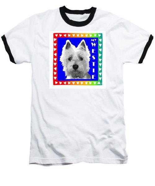 Westie Tshirt Baseball T-Shirt