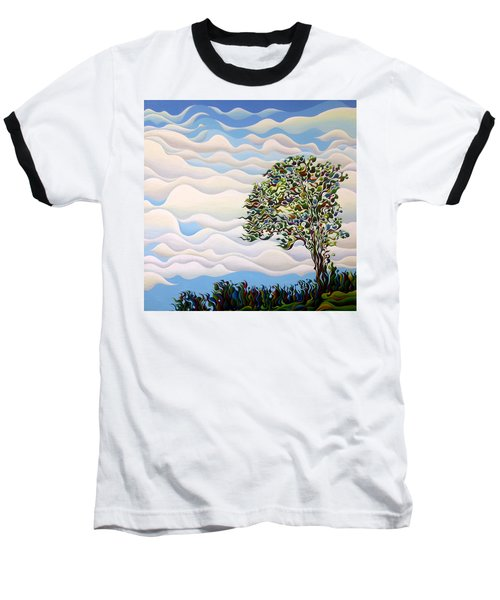 Westward Yearning Tree Baseball T-Shirt