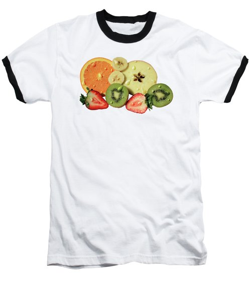 Wet Fruit Baseball T-Shirt