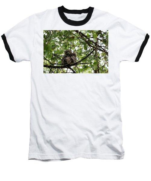 Wet Owl - Wide View Baseball T-Shirt