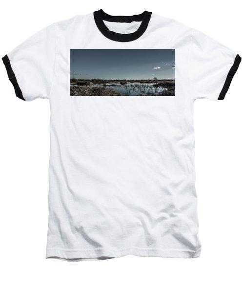 Wetlands Desaturated  Baseball T-Shirt