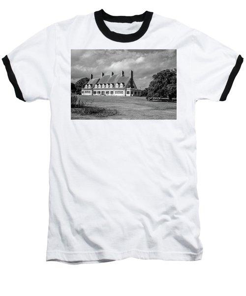Whalehead Club Baseball T-Shirt by David Sutton