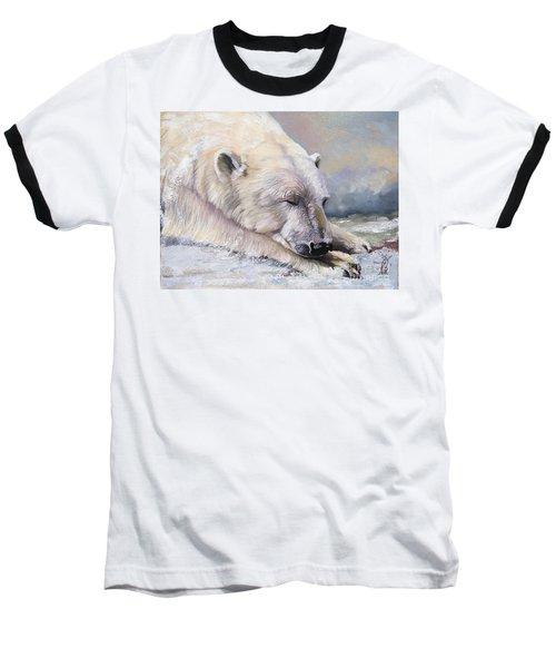 What Do Polar Bears Dream Of Baseball T-Shirt
