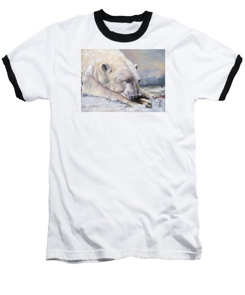 What Do Polar Bears Dream Of Baseball T-Shirt