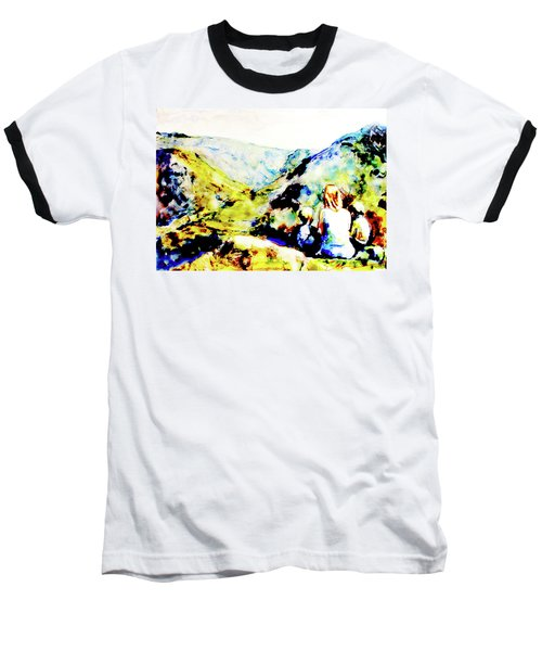 What Lies Ahead Baseball T-Shirt