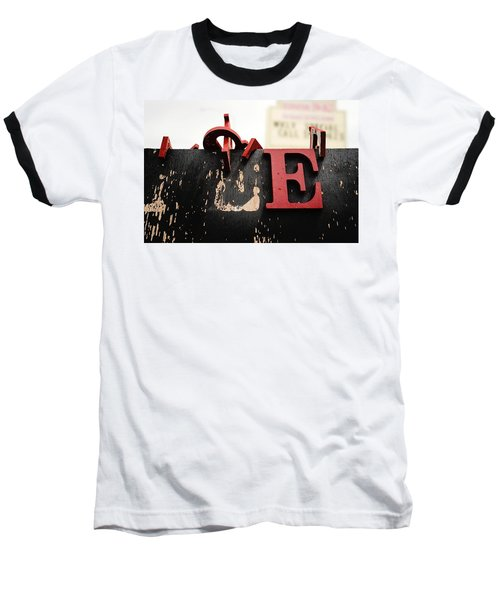 What Rhymes With E Baseball T-Shirt