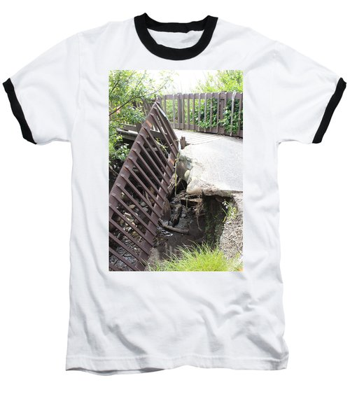 Baseball T-Shirt featuring the photograph What Storms Can Do by Marie Neder
