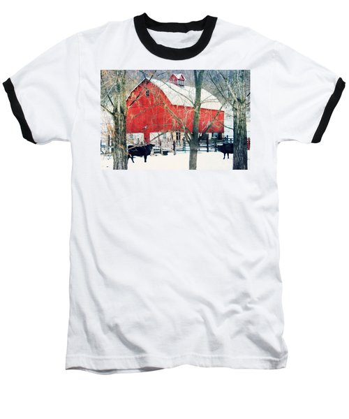 Baseball T-Shirt featuring the photograph Whatcha Looking At by Julie Hamilton