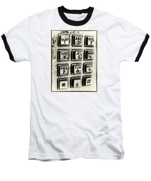 What's Your Number? Baseball T-Shirt by Caitlyn  Grasso