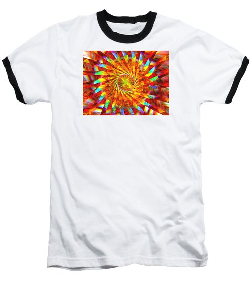 Wheel Of Light Baseball T-Shirt