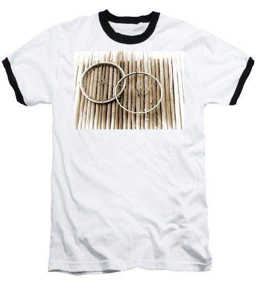 Wheels On Bamboo Baseball T-Shirt