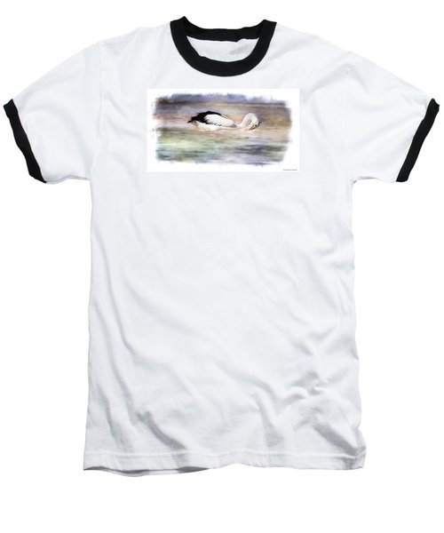 Baseball T-Shirt featuring the photograph Where Is That Dam Fish 01 by Kevin Chippindall