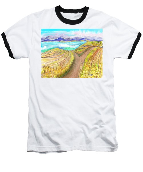 Where It Would Be Nice To Be Baseball T-Shirt